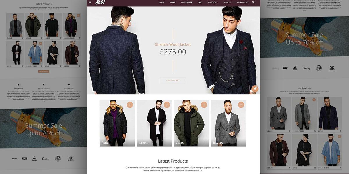 fab hipster theme oxygenna web design