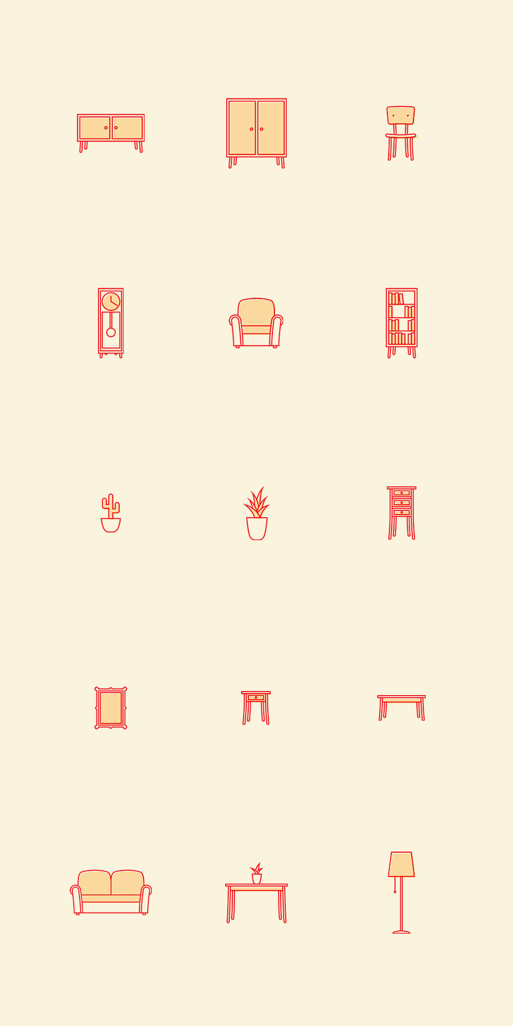 Creative Home Icons