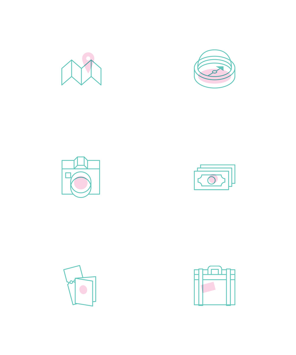 Creative Travel Icons